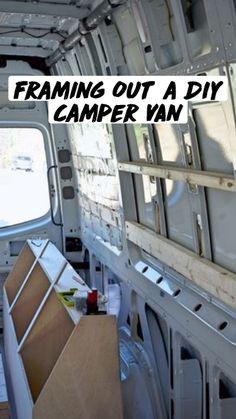 Camper Van Life, Build A Camper Van, Diy Camper, Vintage Campers Trailers, Camper Trailers, Van Conversion Interior, Conversion Van, Minivan Camper Conversion, Diy Van Conversions