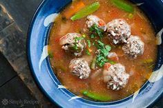 Albondigas Soup ~ Cl