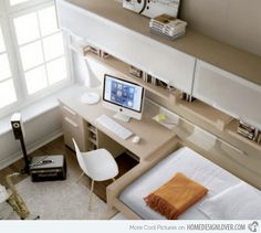 20 Ingenious Workspaces for Teenage Boys | Home Design Lover