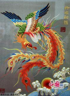 中国丝绣工艺的发展 Chinese embroidery: