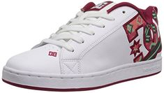 DC Womens Court Graffik SE Skate Shoe WhiteGreen Plaid 5 M US >>> Details can be found by clicking on the image. (This is an affiliate link)