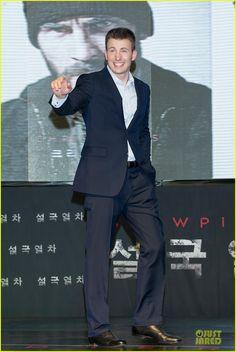 premier of snowpiercer | Chris Evans & Tilda Swinton: 'Snowpiercer' Seoul Premiere!