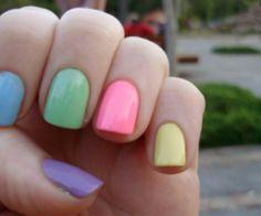 Spring Nail Color - Toats adorbs! Soooooooooo cute 4 Spring/Easter