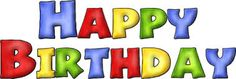 Resultado de imagen de happy birthday letras