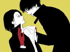 Furuta Nimura and Kaneki Ken from Tokyo Ghoul