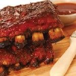 BBQ Ribs With Marijuana Sauce