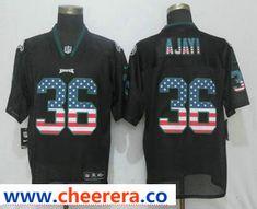 Philadelphia Eagles Jay Ajayi Nike Men s Green Game Jersey  Call-To-Order    69e9ce308