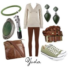 Yoda, created by character-inspired-style on Polyvore