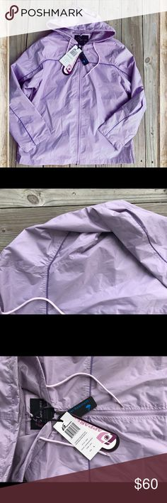 NWT Lilac Jacket New With Tags! -- purchased at Macy's and Received as a gift, but already had a good rain jacket! This is size Large and is so comfortable! Excellent condition. Brand new. Bundle and save 15% off or MAKE ME AN OFFER. 24/7 Comfort Apparel Jackets & Coats