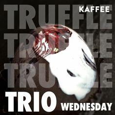 Truffle Trio Wednesday #truffletriowednesday #kaffeemahomet #truffles #thechocolatierinc