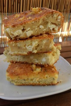 Greek Recipes, Desert Recipes, Baby Food Recipes, Cake Recipes, Cooking Recipes, Cypriot Food, Quick Cake, Dessert Bread, Creative Food