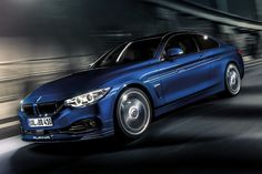 BMW Alpina B4.