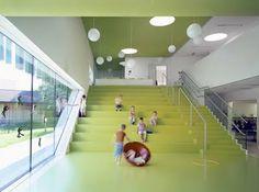 "Kindergarten Sighartstein by Kadawittfeldarchitektur: ""Can you hear the grass growing?"""
