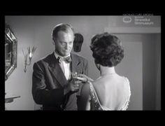 """TEUFEL IN SEIDE (1956) Filmausschnitt """"Sekt"""""""
