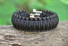 "Survival Straps ""WIDE"" bracelet $37.90"