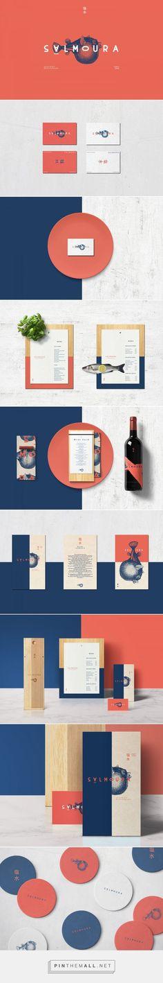 Salmoura Seafood Restaurant Branding and Menu Design by Manoela Silva   Fivestar Branding Agency – Design and Branding Agency & Curated Inspiration Gallery
