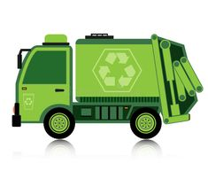 Illustration about Garbage truck with a white background. Illustration of isolated, street, auto - 35307909 Truck Toppers, Car Vector, Vector Stock, Party Invitations Kids, Graduation Project, Garbage Truck, Personalized Christmas Ornaments, Safari, Digimon