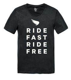Saint Ride Fast Ride Free T