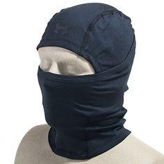 5b11ff764a Under Armour Hoods  Men s Black 1244401 001 Infrared ColdGear Tactical  Balaclava Hood Tactical Shirt