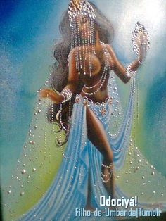 Mother to all and my protector the one who connects me to my second home. May she continue to guide me, love me, be my strength. Black Love Art, Black Girl Art, Art Girl, African Mythology, African Goddess, Oshun Goddess, Goddess Art, African American Art, African Art