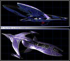 ISA Gunship by Amras-Arfeiniel on DeviantArt Star Wars Spaceships, Sci Fi Spaceships, Alien Spaceship, Spaceship Concept, Sci Fi Tv, Sci Fi Movies, Best Sci Fi Series, Alien Ship, Tv Themes
