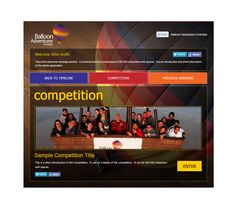 Balloon Adventures, competition apps built by Nexa @ballooning_uae