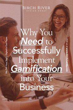 Incorporating fun, or #gamification can result in improvements in your customer engagement, employee satisfaction, and more!  #smallbusiness #businesstips #companyculture #BirchRiverDesignGroup How To Motivate Employees, Customer Engagement, Business Tips, Motivation, Digital, Fun, Hilarious, Inspiration