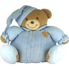 Baby Bow Huge Goodnight Stuffed Teddy Bear in
