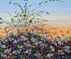 """Evening Skies"" Evening Sky, Create Words, Planting Flowers, Maya, Fields, North America, Grass, Scene, Landscape"