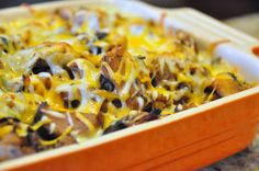 BBQ Chicken Cheesy Mac is my favorite way to use BBQ chicken or pork. #Leftovers