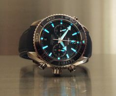 OMEGA+Seamaster+Planet+Ocean+Liquidmetal+Titanium+Chrono