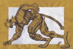 Sketch for Riblades character! #Ruggine #Riccardopieruccini