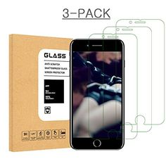 iPhone 8 7 6S 6 Screen Protector Glass, Hycamor iPhone 7 Tempered Glass Screen Protector For Apple iPhone 7 [3D Touch Compatible] , iPhone 6S, iPhone 6 2016, 2015 (3-Pack)  https://topcellulardeals.com/product/iphone-8-7-6s-6-screen-protector-glass-hycamor-iphone-7-tempered-glass-screen-protector-for-apple-iphone-7-3d-touch-compatible-iphone-6s-iphone-6-2016-2015-3-pack/  made from the highest quality tempered – glass with 100% bubble-free adhesives, bubble-free install