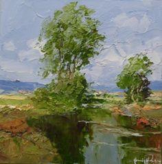 Original landscape art by artist erich paulsen www hepplestonefineart