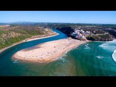 Odeceixe aerial view - 4K Ultra HD