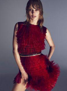Dolce&Gabbana Best Fashion Editorials Spring Summer 2014 - Elle France March 2014 -