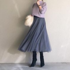 """Don't be overwhelmed ♡ """"Fashionable and fashionable"""" adult event coordination 5 – Miracles from Nature Korean Girl Fashion, Fashion D, Winter Fashion Outfits, Hijab Fashion, Autumn Winter Fashion, Womens Fashion, Skirt Outfits, Cool Outfits, Clothes For Women"""