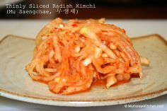 As I announced yesterday, today's recipe is thinly sliced radish Kimchi (Mu Saengchae, 무생채), which is what I enjoyed with bossam on the weekend. It is very cheap to make (I spend 500 won – US $0.50 on a big size radish) and very easy to make, though it can hurt your hands or back,...Read More