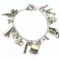 This enchanted bracelet is inspired by Fifty Shades of Grey Trilogy. The charms…