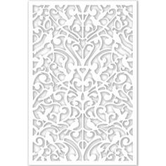 Headboard material home depot Acurio Latticeworks Ginger Dove 32 in. x 4 ft. White Vinyl Decorative Screen Panel - - The Home Depot Vinyl Decor, Wall Decor, Bedroom Decor, Home Depot, Decorative Screen Panels, Decorative Metal, Decorative Items, Pet Gate, Decks And Porches