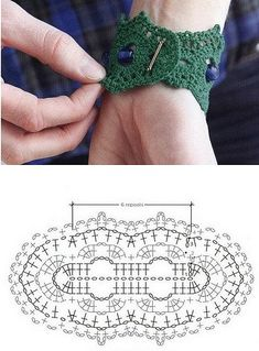 Click the image to view more about Boho Crochet Earrings Pattern! Click the image to view more about Boho Crochet Earrings Pattern! Crochet Bracelet Pattern, Crochet Jewelry Patterns, Crochet Motifs, Crochet Stitches Patterns, Crochet Diagram, Crochet Chart, Love Crochet, Crochet Accessories, Crochet Gloves