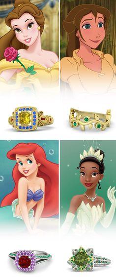 Gemvara Disney Princess engagement rings