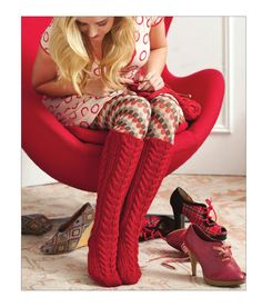 ISSUU - Knit Red by Sixth&Spring Books i so want to make these!