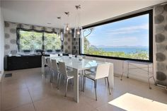 villa for sale in Saint Raphael, Var, Cote D'Azur - Dining Rooms, Dining Table, Expensive Houses, Best Dining, Luxury Real Estate, Knight, Villa, Amazing, Furniture