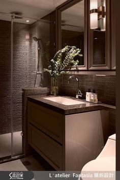 INTERIOR | 34평 네오클래식컬 st. 아파트 인테리어 Double Vanity, Bathroom Lighting, Interior, Furniture, Home Decor, Bathroom Light Fittings, Indoor, Homemade Home Decor, Design Interiors