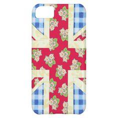 Fun #UnionJack #iPhone5C case by #PatriciaSheaDesigns