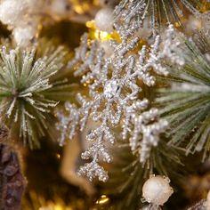 Silver Snowflake Ornament   Pier 1 Imports