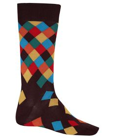 Paul Smith Accessories Multicolour Harlequin Ankle Socks have 10% off at Liberty.co.uk (ends Sunday)