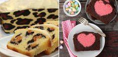 3 total verrückte Kuchen mit Überraschungseffekt