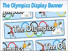 Tales from a Traveling Teacher: British classrooms #3 and Olympics website!